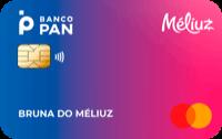 Logo Banco Banco Pan Cartão Méliuz Mastercard Internacional