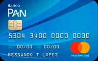 Logo Banco Pan Cartão Pan Básico Mastercard Internacional