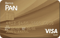 Logo Banco Banco Pan Cartão Banco Pan Visa Gold Internacional