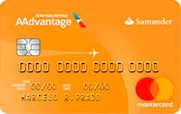 Logo Banco Santander Cartão AAdvantage® Gold