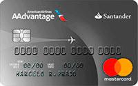 Logo Banco Santander Cartão Santander AAdvantage® Mastercard Platinum Internacional