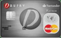 Logo Banco Santander Cartão Dufry Platinum