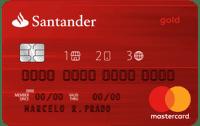 Logo Banco Santander Cartão Santander 1 2 3 Mastercard Internacional