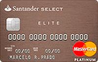 Logo Banco Santander Cartão Select Elite Platinum Mastercard
