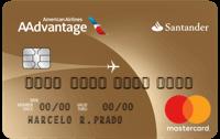 Logo Banco Santander Cartão Santander AAdvantage® Mastercard Gold Internacional