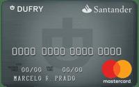 Logo Banco Santander Cartão Santander Dufry Mastercard Platinum Internacional