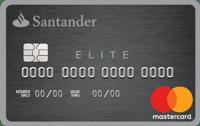 Logo Banco Santander Cartão Elite Mastercard Platinum