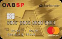 Logo Banco Santander Cartão Santander OAB-SP Mastercard Internacional
