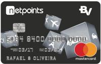 Logo Banco Votorantim Cartão NetPoints Platinum Mastercard