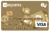 Logo Banco Votorantim Cartão NetPoints Gold Visa