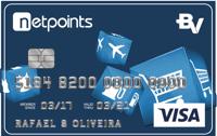 Logo Banco Votorantim Cartão NetPoints Visa Internacional