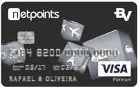Logo Banco Votorantim Cartão NetPoints Visa Platinum