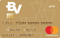 Logo Banco Votorantim Cartão BV Mastercard Gold Internacional