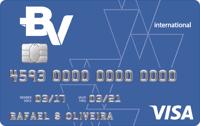 Logo Banco Votorantim Cartão BV Internacional Visa