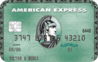 Logo Bradesco Cartão de crédito American Express Green
