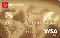 Logo Bradesco Cartão Bradesco Visa Gold