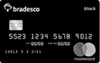 Logo Bradesco Cartão Bradesco Mastercard Black Internacional