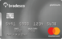 Logo Bradesco Cartão Bradesco Mastercard Platinum Internacional