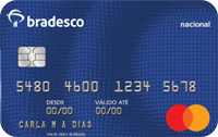 Logo Bradesco Cartão Bradesco Mastercard Nacional