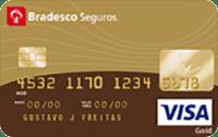 Logo Bradesco Cartão Bradesco Seguros Visa Gold
