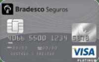 Logo Bradesco Cartão Bradesco Seguros Visa Platinum