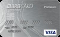 Logo BRBcard Cartão BRB Visa Platinum Internacional