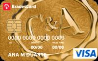 Logo C&A BradesCard C&A Visa Gold