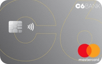 Logo C6 Bank Cartão C6 Bank Mastercard Black Internacional