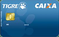 Logo Caixa Econômica Federal Cartão Tigre Caixa Visa Nacional
