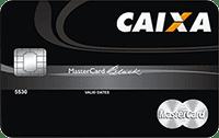 Logo Caixa Econômica Federal Cartão Caixa Mastercard Black Internacional