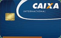 Logo Caixa Econômica Federal Cartão Caixa Visa Internacional
