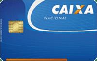 Logo Caixa Econômica Federal Cartão Caixa Nacional Visa