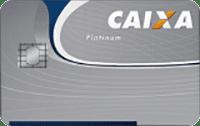 Logo Caixa Econômica Federal Cartão Caixa Visa Platinum