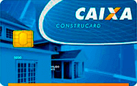 Logo Caixa Econômica Federal Cartão Construcard Caixa Nacional