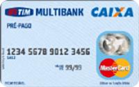 Logo Caixa Econômica Federal Cartão Caixa Pré-pago Tim Multibank Mastercard Nacional