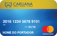 Logo Caruana Cartão Caruana Mastercard Nacional