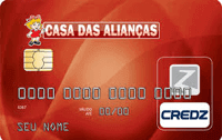 Logo Credz Cartão Casa das Alianças Credz Nacional