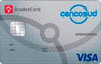Logo Cencosud BradesCard Cencosud Visa Internacional