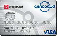 Logo Cencosud Cartão Cencosud Bradescard Visa Nacional