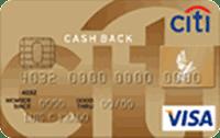Logo Citibank Cartão Citibank Cash Back Visa Gold