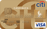 Logo Citibank Citi Cash Back Gold Visa