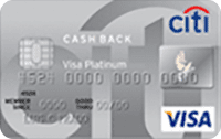 Logo Citibank Citi Cash Back Platinum Visa