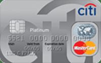 Logo Citibank Cartão Citibank Clássico Mastercard Platinum Internacional