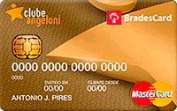 Logo Clube Angeloni Cartão Clube Angeloni Bradescard Mastercard Gold Internacional
