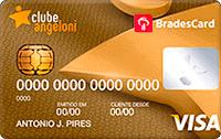 Logo Clube Angeloni BradesCard Clube Angeloni Visa Gold