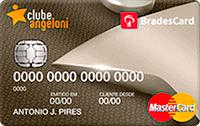 Logo Clube Angeloni Cartão Clube Angeloni Bradescard Visa Gold Internacional