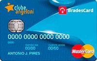 Logo Clube Angeloni Cartão Clube Angeloni Bradescard Mastercard Internacional