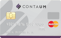 Logo Conta UM Cartão Pré-pago Conta UM
