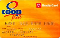 Logo Cooperativa de Consumo Coop Cartão Coop Bradescard Nacional