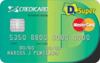 Logo Credicard Credicard D.Super Mastercard Internacional